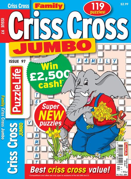 Family Criss Cross Jumbo – April 2021