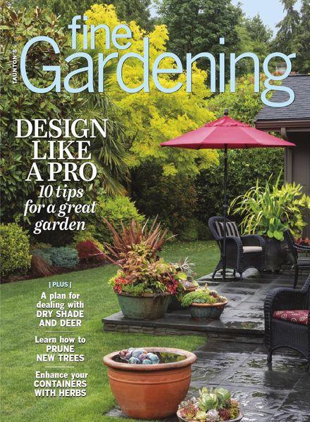 Fine Gardening – May June 2021
