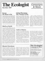 Resurgence & Ecologist – Campaigns & News November-December 1997