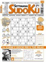Settimana Sudoku – 31 marzo 2021