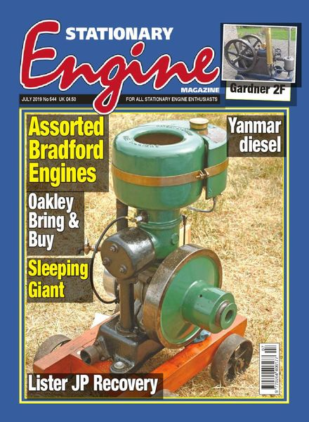 Stationary Engine – Issue 544 – July 2019