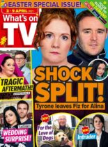What's on TV – 03 April 2021