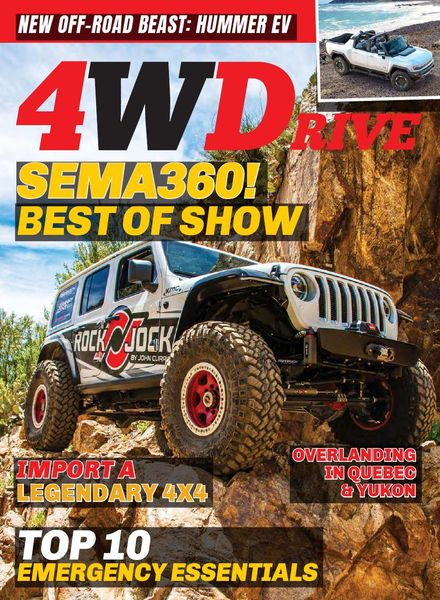 4WDrive – Volume 22 Issue 8 – January-February 2021