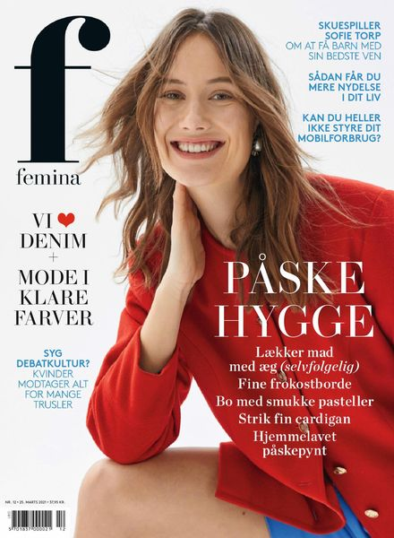 Femina Denmark – 25 March 2021
