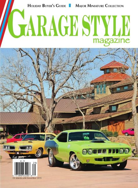 Garage Style – Issue 30 – 24 August 2015