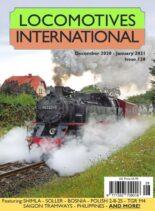 Locomotives International – Issue 128 – December 2020 – January 2021