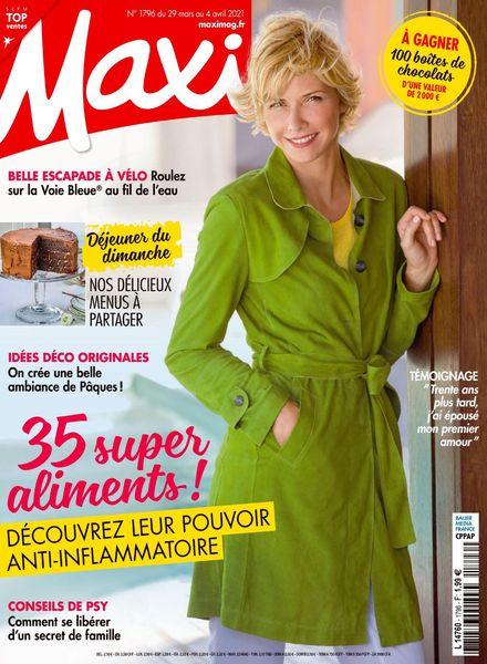 Maxi France – 29 Mars 2021