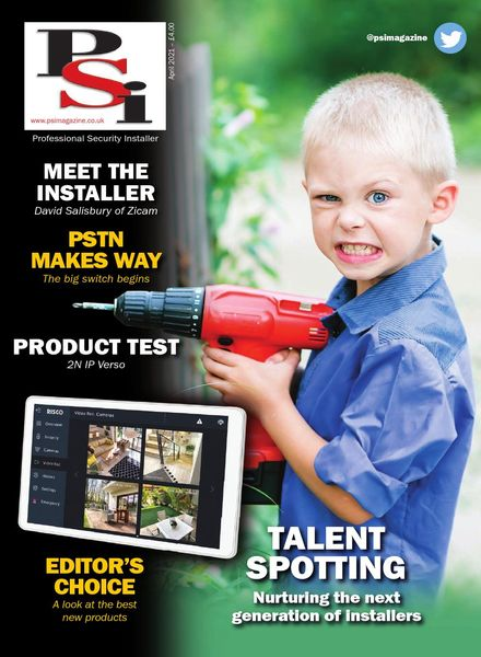 PSI Professional Security Installer – April 2021
