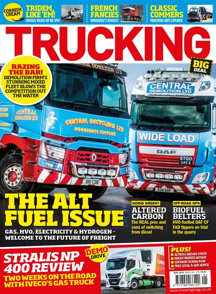 Trucking Magazine – Issue 415 – May 2018