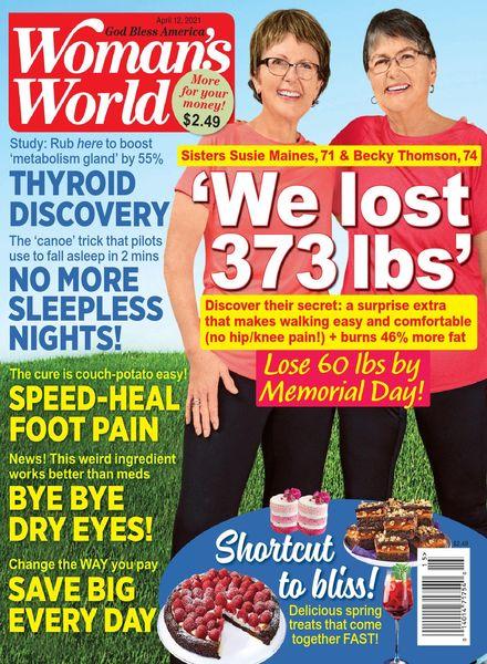 Woman's World USA – April 12, 2021