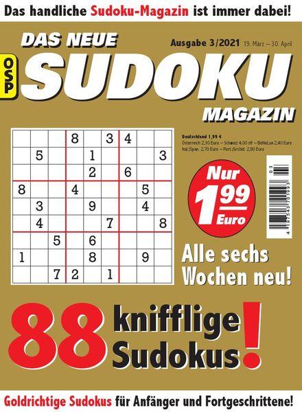 Das Neue Sudoku – Nr.3 2021