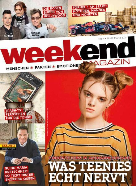 Weekend Magazin – 26 Marz 2021