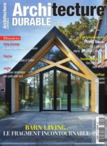 Architecture Durable – Avril-Juin 2021
