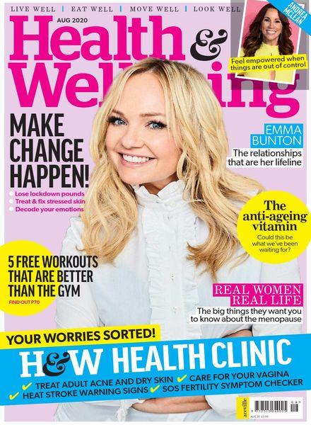 Health & Wellbeing – August 2020
