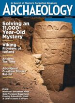 Archaeology – May-June 2021