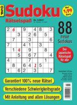 Sudoku Ratselspass – Nr.3 2021