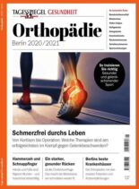 Tagesspiegel Gesundheit – Orthopadie – August 2020