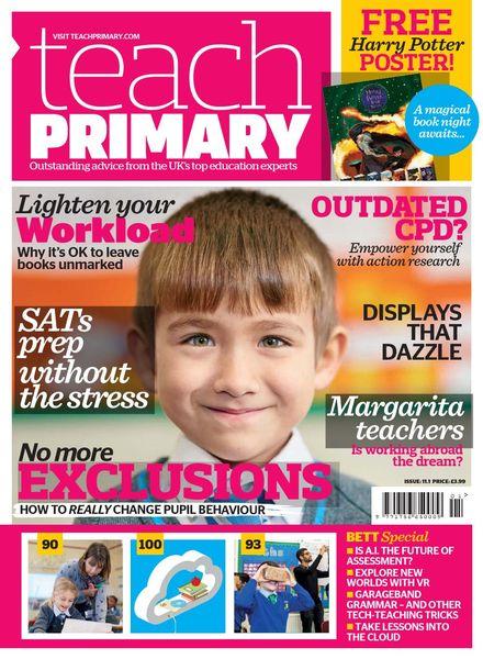 Teach Primary – Volume 11 Issue 1 – 6 January 2017