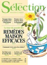 Selection Reader's Digest France – Avril 2021