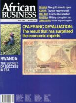 African Business English Edition – April 1994