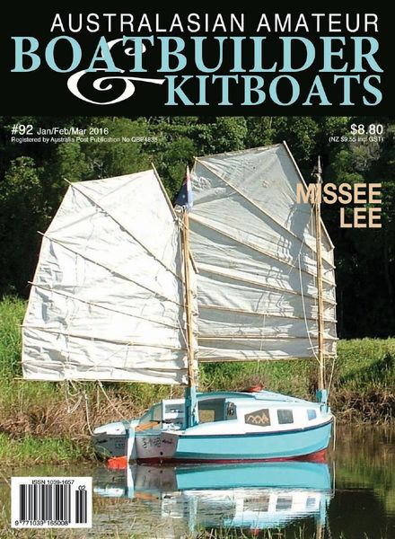 Australian Amateur Boat Builder – Issue 92 – January-February-March 2015
