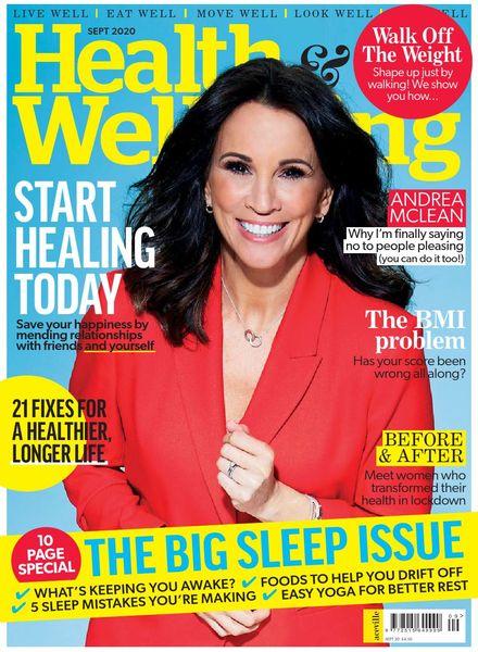 Health & Wellbeing – September 2020