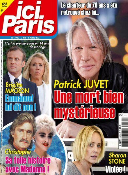 Ici Paris – 07 avril 2021