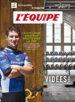 L'Equipe Magazine – 10 Avril 2021