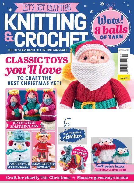 Let's Get Crafting Knitting & Crochet – Issue 105 – September 2018