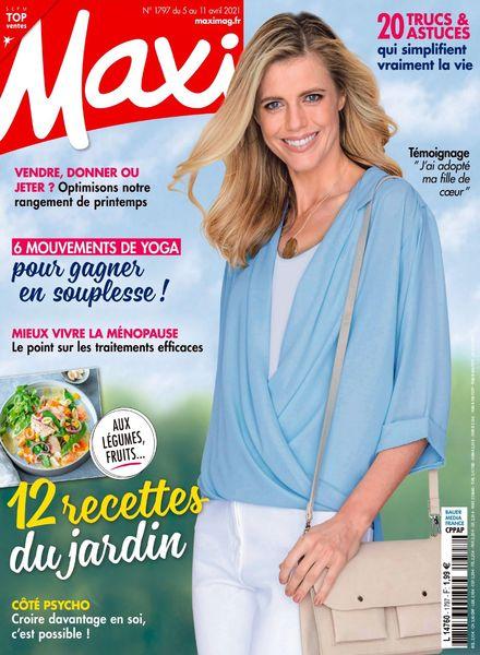 Maxi France – 5 Avril 2021