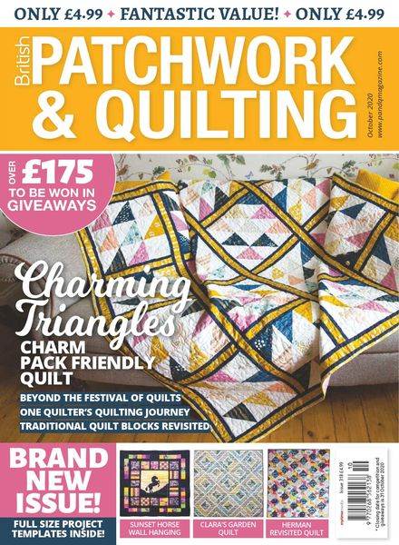 Patchwork & Quilting UK – October 2020