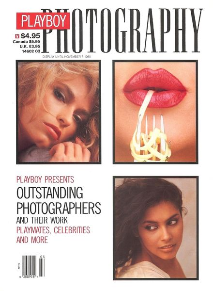 Playboy Photography – November 1988