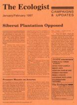 Resurgence & Ecologist – Campaigns & News January-February 1997