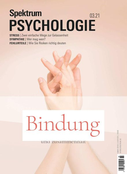 Spektrum Psychologie – Marz 2021