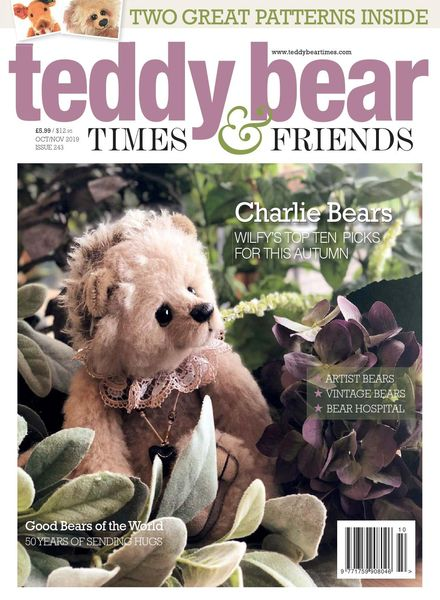 Teddy Bear Times – Issue 243 – October-November 2019