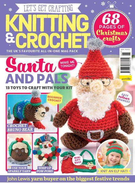 Let's Get Crafting Knitting & Crochet – Issue 95 – September 2017
