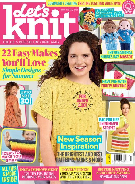 Let's Knit – Issue 170 – May 2021