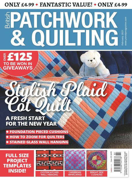 Patchwork & Quilting UK – February 2021