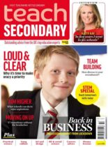 Teach Secondary – Volume 10 Issue 3 – April-May 2021