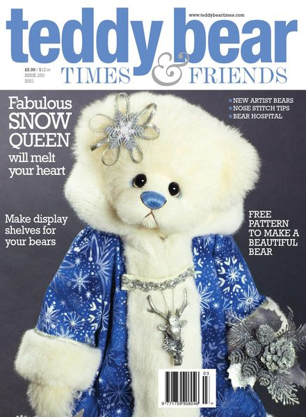 Teddy Bear Times – Issue 250 – February-March 2021