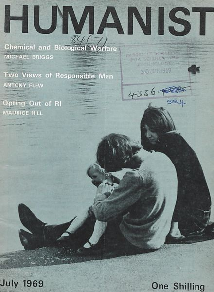 New Humanist – The Humanist, July 1969