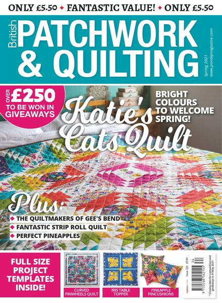 Patchwork & Quilting UK – Spring 2021