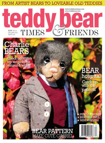Teddy Bear Times – Issue 249 – December 2020 – January 2021