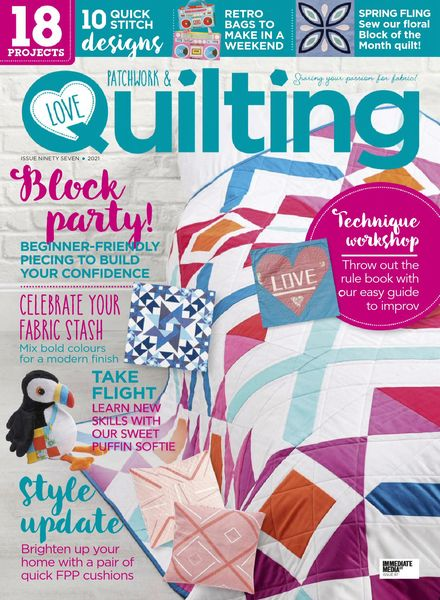 Love Patchwork & Quilting – May 2021