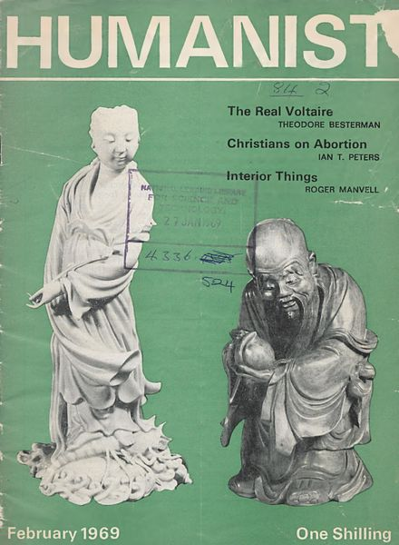 New Humanist – The Humanist, February 1969
