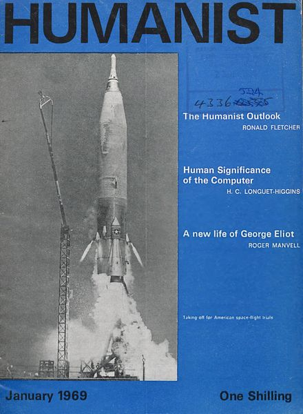 New Humanist – The Humanist, January 1969