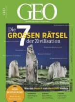 Geo Germany – Mai 2021