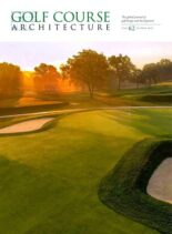 Golf Course Architecture – Issue 62 – October 2020