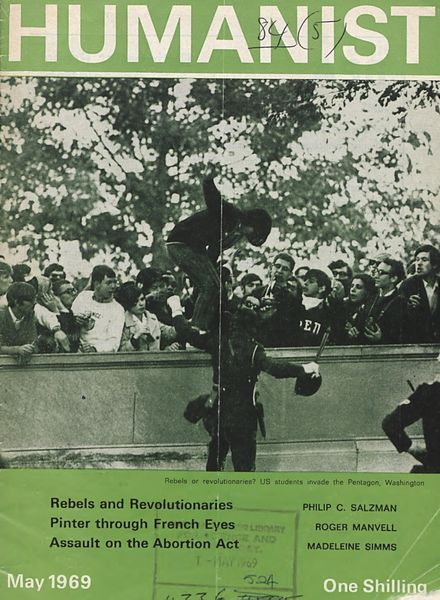New Humanist – The Humanist, May 1969