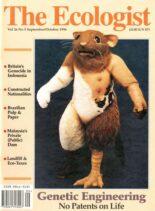 Resurgence & Ecologist – Ecologist, Vol 26 N 5 – Sepember – October 1996